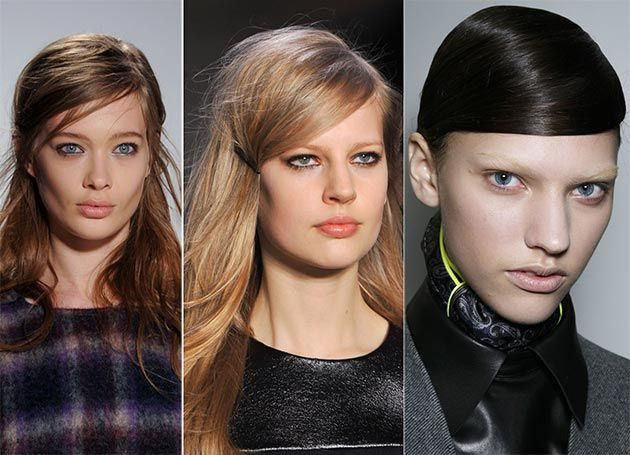 Fall/ Winter 2014-2015 Hairstyle Trends: Side-Swept Hair  #hairstyles #hairtrends