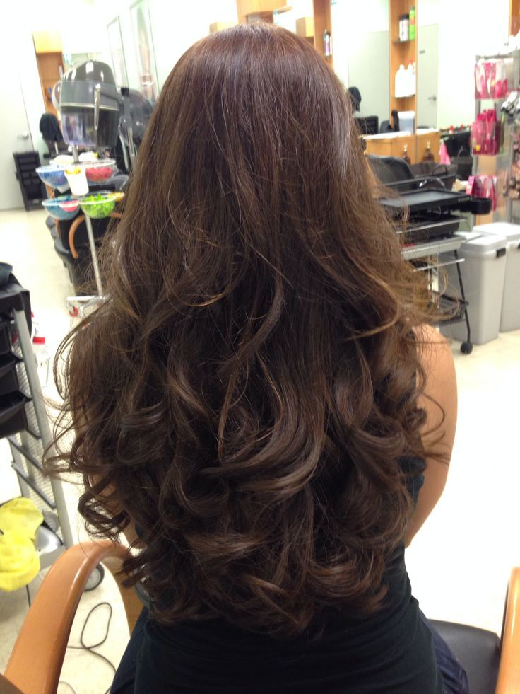 how to cut long layers in curly hair
