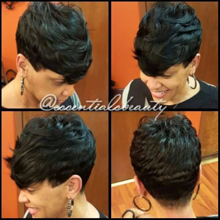 Quickweave With Back Sides Out 27 Piece Hairstyles Quick Weave Hairstyles Hair Styles