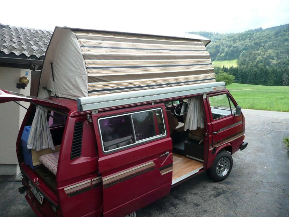 vw bus t3 cassandra camper mieten in schwyz kaufen ber. Black Bedroom Furniture Sets. Home Design Ideas