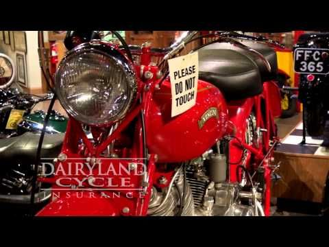 1952 Vincent Red Rapide via Dairyland Cycle Insurance ...