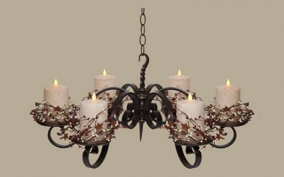Non Electric Pillar Wrought Iron Candle Chandeliers Design Solar Lights Lighting Ideas Pendant Light Outdoor Possini Patio Used Hampton Bay