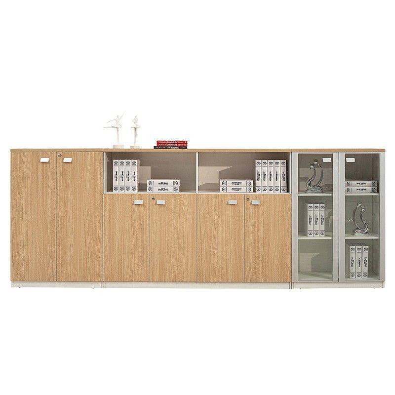 High evaluation sapce saving storage cabinet wooden modern office
