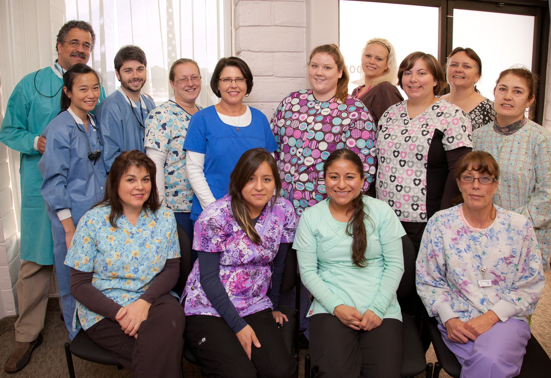 Some Staff At Burre Dental Center Eureka California Dental Center Del Norte County Eureka