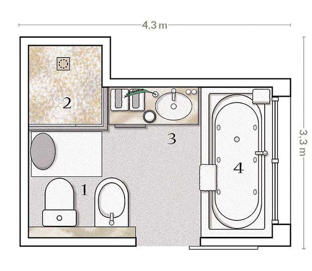 Dise o de interiores arquitectura un ba o minimalista for Planos de diseno de interiores