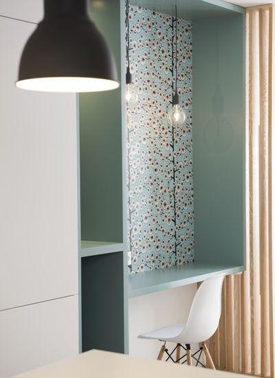 A la Croix Rousse - rénovation - aménagement - décoration - appartement - verrière - atelier - Lyon - agence - architecture - d'intérieur- Marion - LANOË #amenagementmaisonchambre