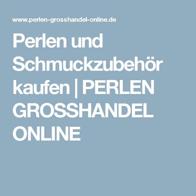 Schmuckzubehör online kaufen  Perlen und Schmuckzubehör kaufen | PERLEN GROSSHANDEL ONLINE ...