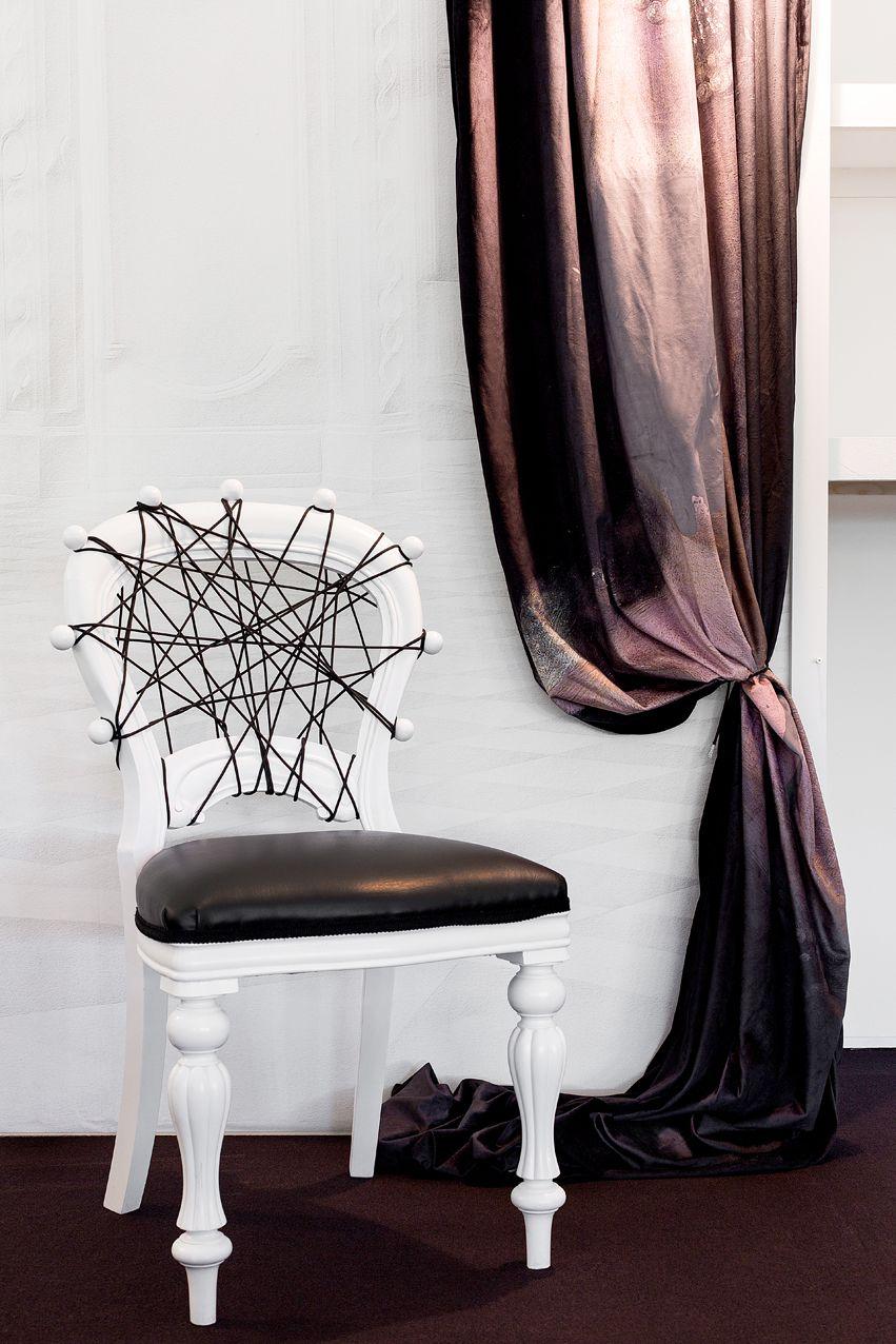 White Bondage Chair | Interiors with Mineheart \'16 | Pinterest ...