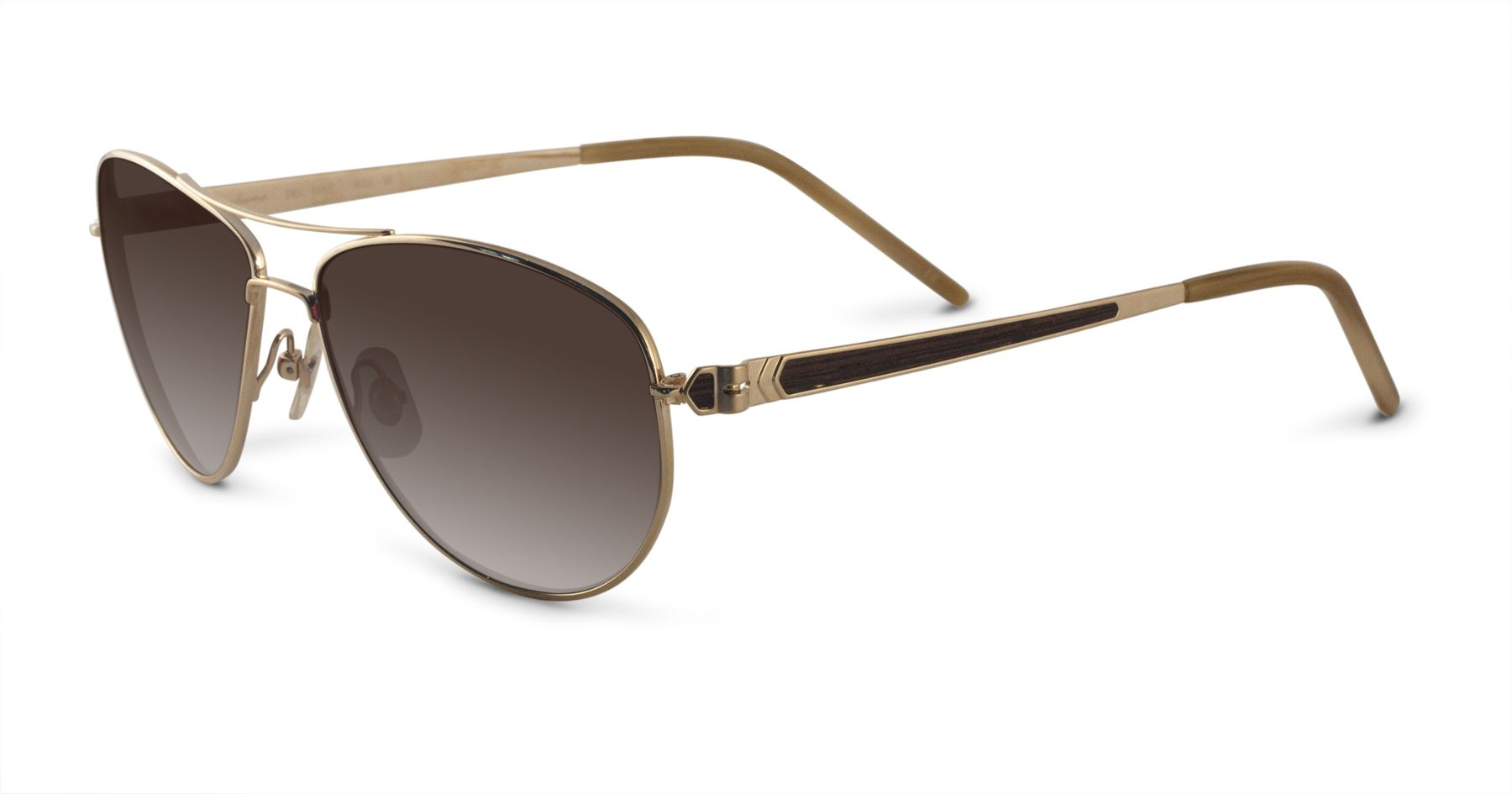 #sunglasses of the #month for #january2014: #samaeyewear #DelMar in brushed #gold/#wood