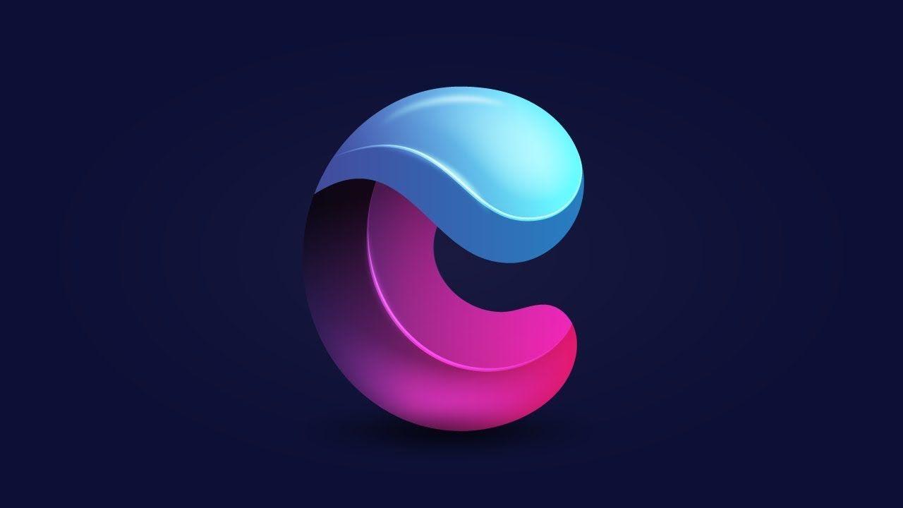 3d Letter C Logo Design In Affinity Designer Affinity Designer