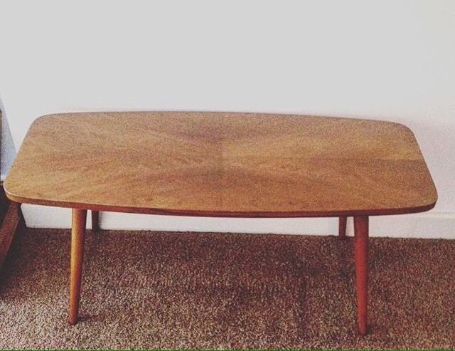 Vintage Mid Century Coffee Table Retro Ebay For Home Mid
