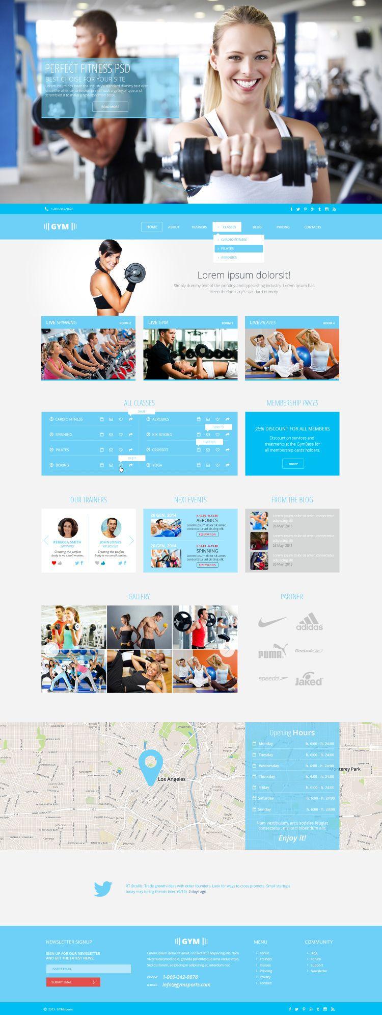 photoshop website templates