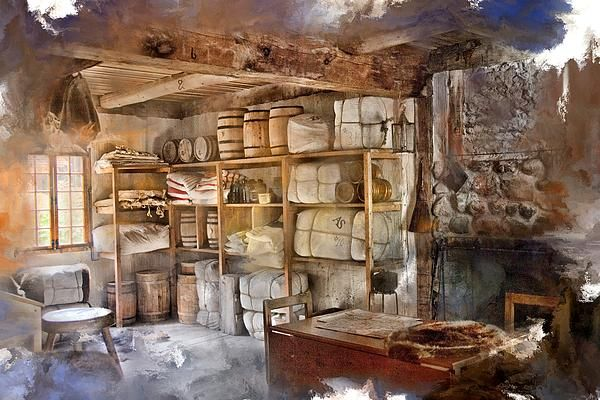 Store Room At Fort Michilimackinac By Evie Carrier Exterior House Doors Fur Trade Rustic Living