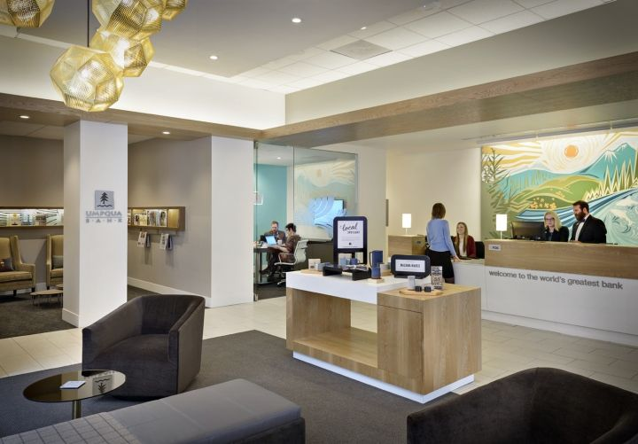 Umpqua Bank Flagship By Ditroen Portland Oregon Retail Design
