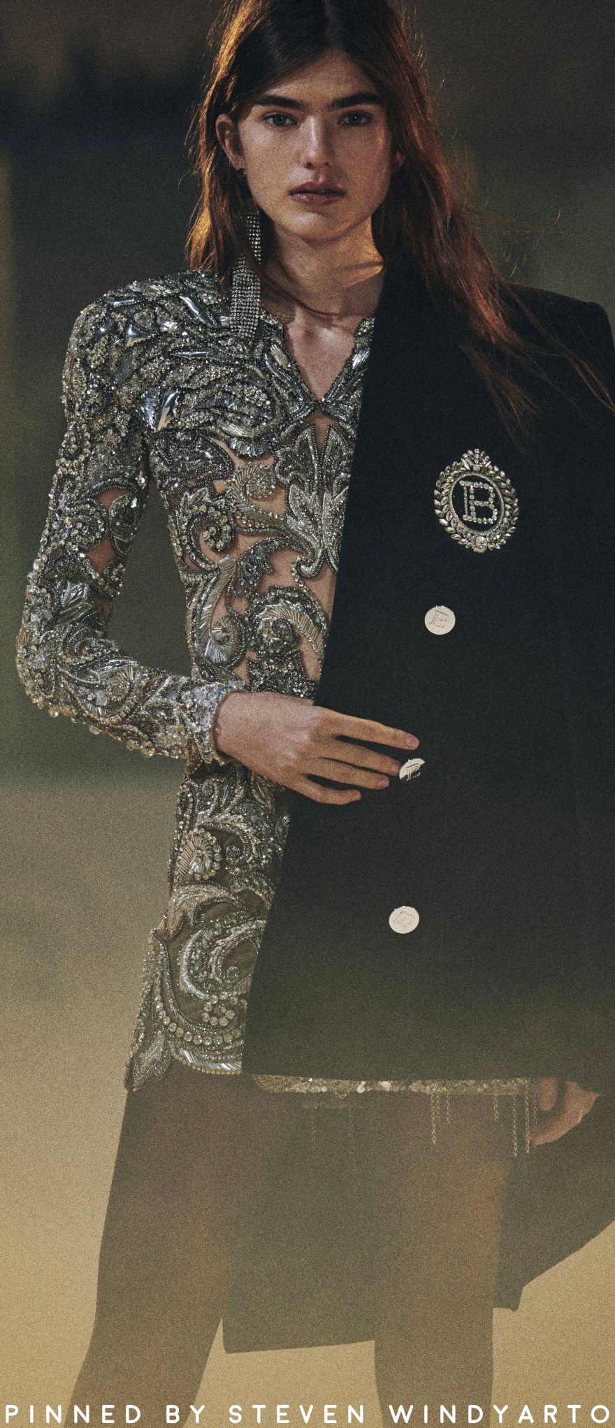 Balmain Pre Fall 2020 Lookbook #prefall2020 #pf20 #womenswear #olivierrousteing