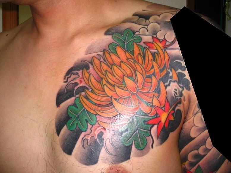 chrysanthemum | Japanese tattoo, Japanese tattoo designs ...