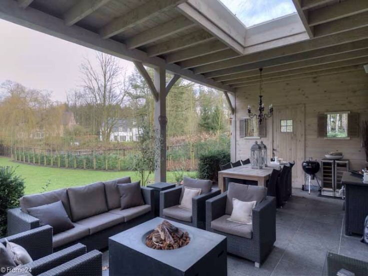 Overdekt terras greenhouse freisitz