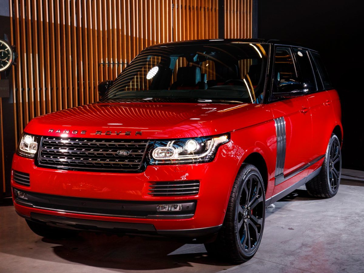 Photo of Awesome Range Rover Red Interior 2017 And Review