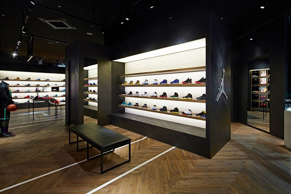 Nike Basketball Store in Japan by Specialnormal Store