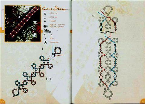 браслет из японского журнала | biser.info - всё о бисере и бисерном творчестве