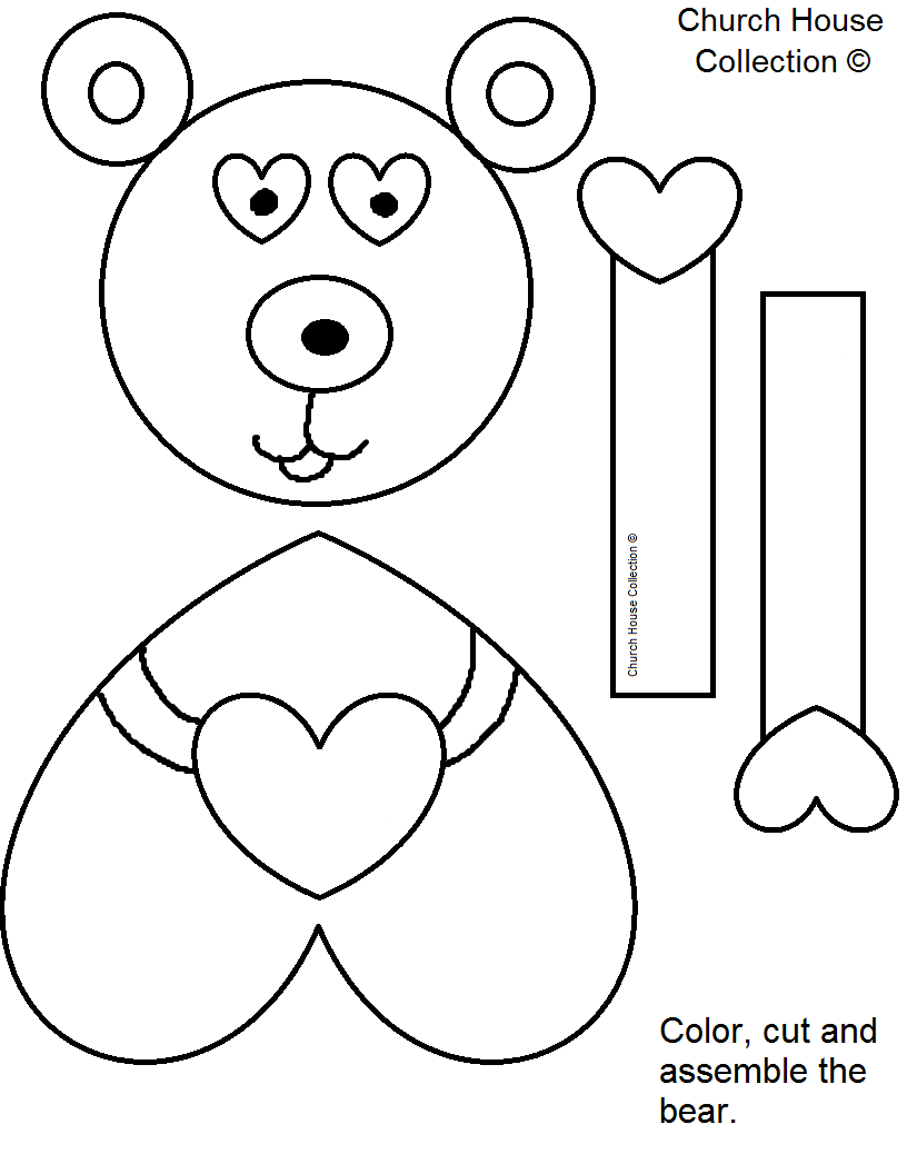 """Church House Collection Blog: """"Jesus Loves Me Beary Much ..."""