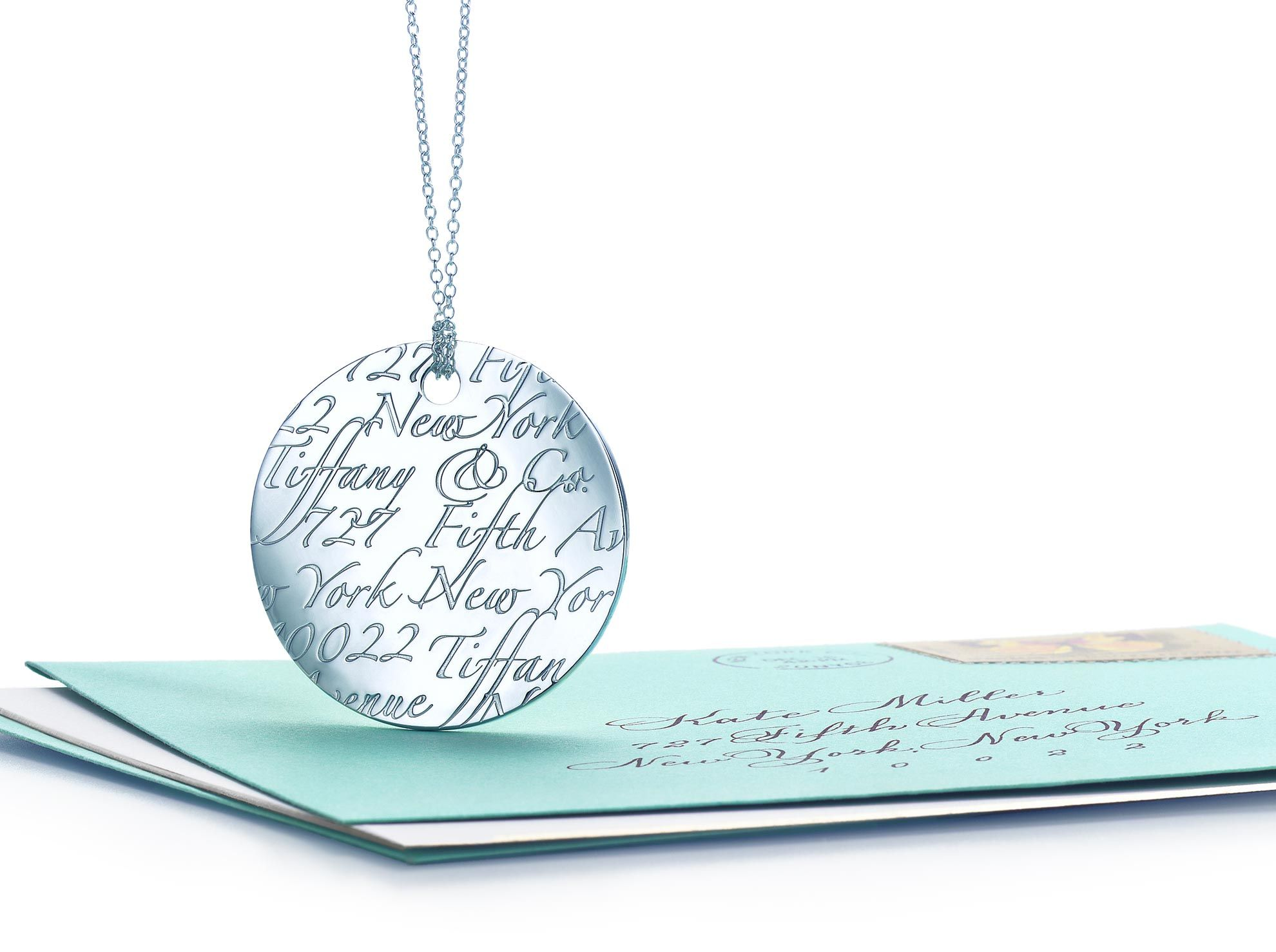 Tiffany Notes Quot I Love You Quot Disc Charm In Sterling Silver