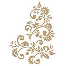 Resultado de imagen para stencil de flores