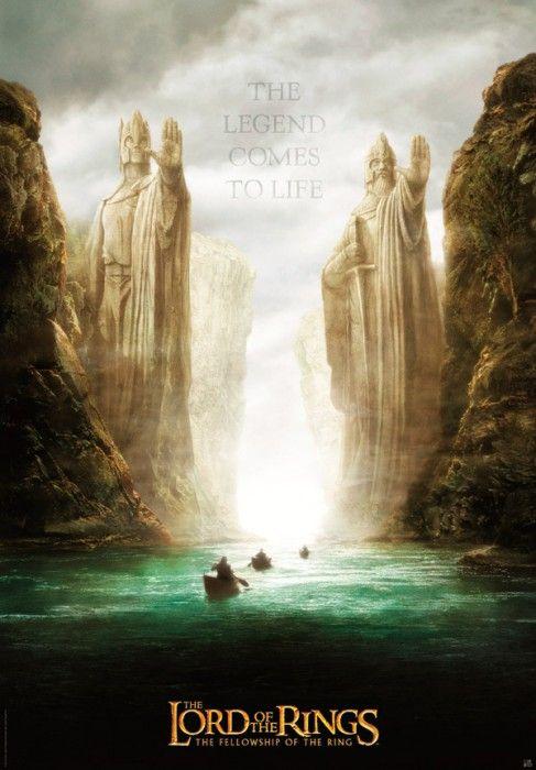 Seigneur Des Anneaux Streaming : seigneur, anneaux, streaming, Poster, Seigneur, Anneaux, Communauté, Anneau, (98x68), Anneaux,, Seigneur,, Tolkien
