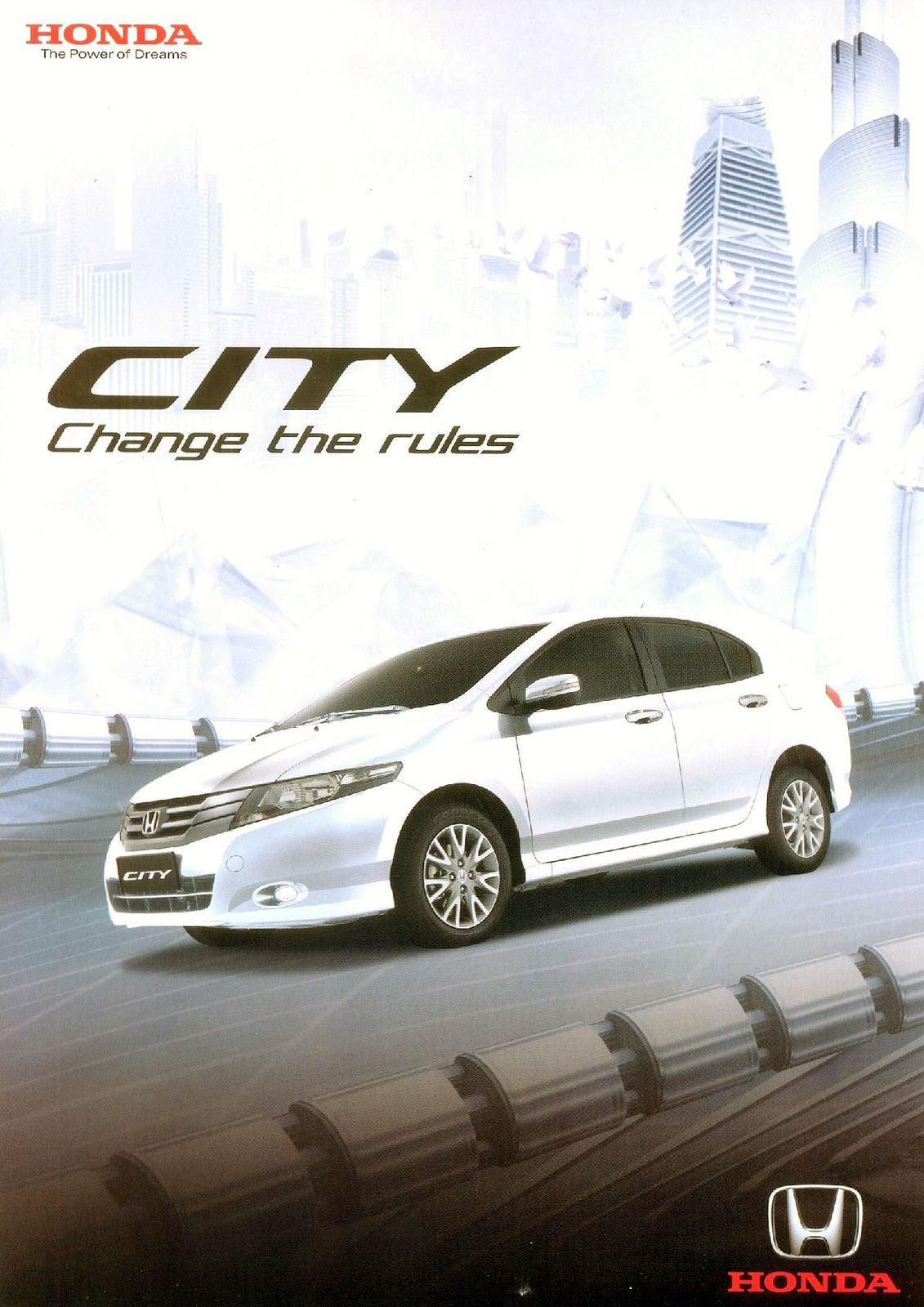 Honda City Mk5 Philippines Brochure 2010 In 2020 Honda City Honda City
