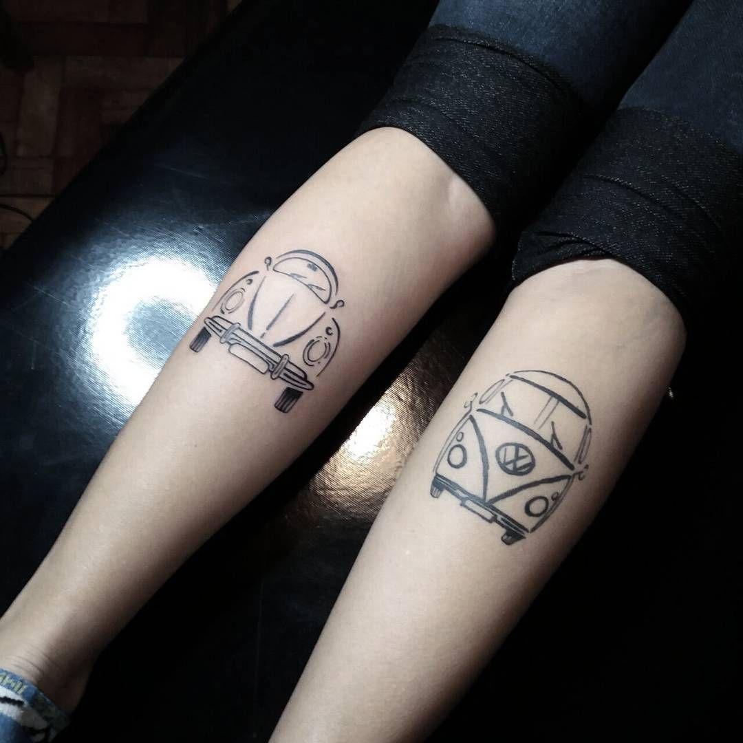 Tattoo Fusca E Kombi Tattooyou Tattoomagazine Tatuagens