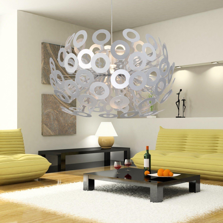 Oofay light einfache und elegante aluminium l ster ein - Wohnzimmer kronleuchter ...