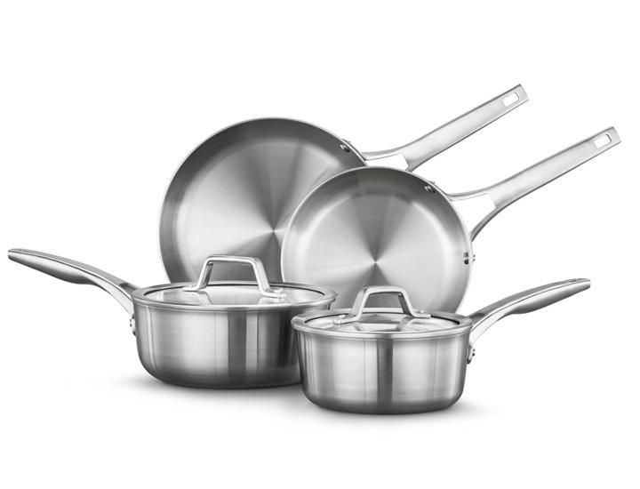 Calphalon Premier Stainless Steel 6 Piece Cookware Set In 2020