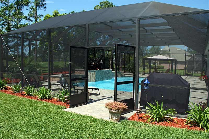 Http Www Stanleypoolsinc Com Pictures Image28 Jpg Screened Pool Pool Enclosures Backyard Pool Designs