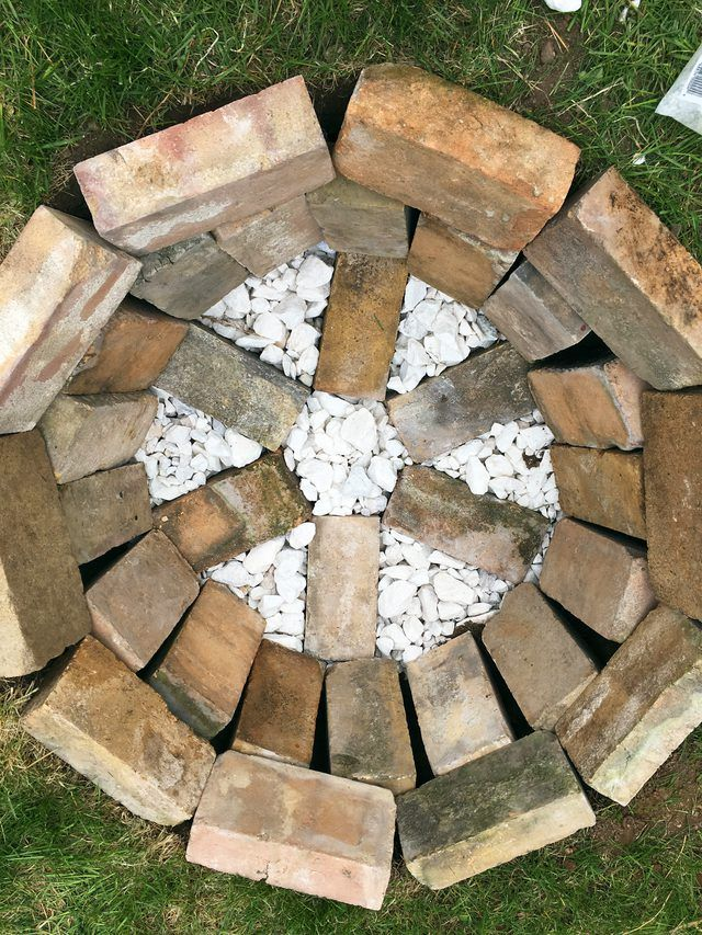 How to Build a Brick Fire Pit in Your Backyard | eHow