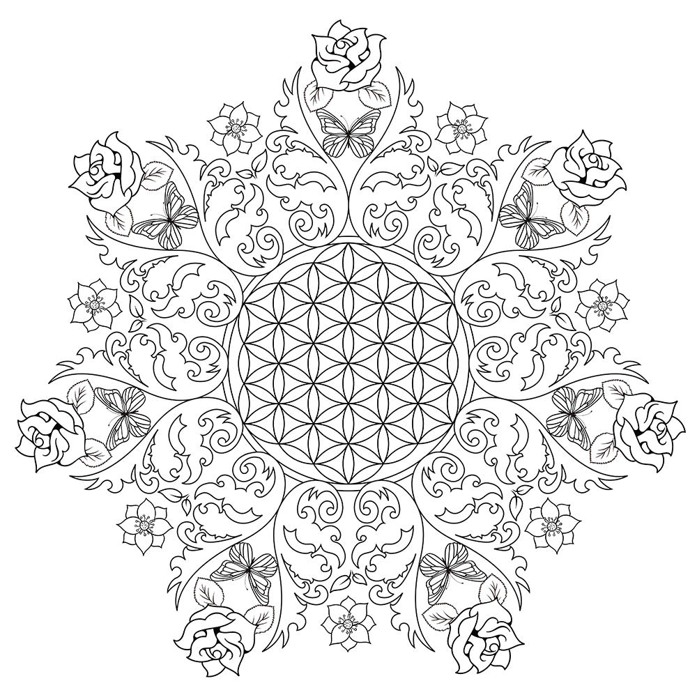 Coloring Pages: Detailed Coloring Pages For Adults ...Detailed Mandala Coloring Pages For Adults