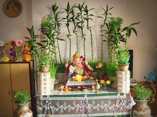 Ecofriendly Ganpati Decoration Ideas. Diwali DekorationenFestival  DekorationenSelbstgemachte HochzeitsdekoIdeen Für Die ...
