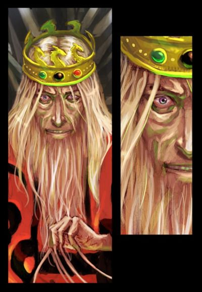 Mad King Aerys Targaryen A Song Of Ice And Fire Game Of Thrones Art
