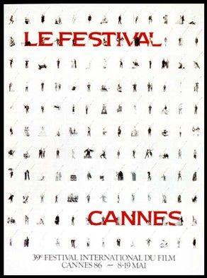 Official Festival de Cannes Poster, 1986