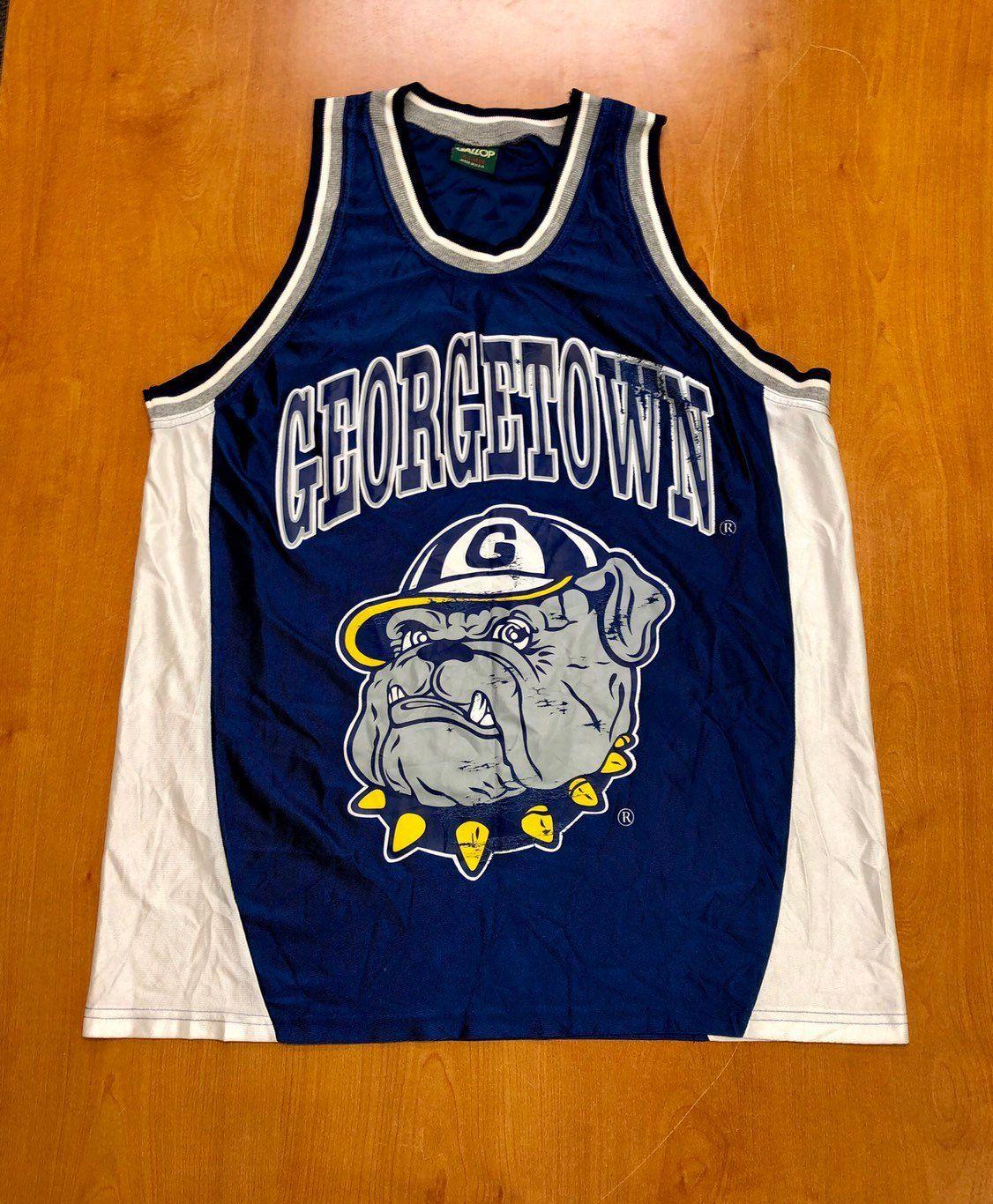 the best attitude dc201 1103e Vintage 1994 - 1996 Allen Iverson Georgetown Hoyas Jersey ...