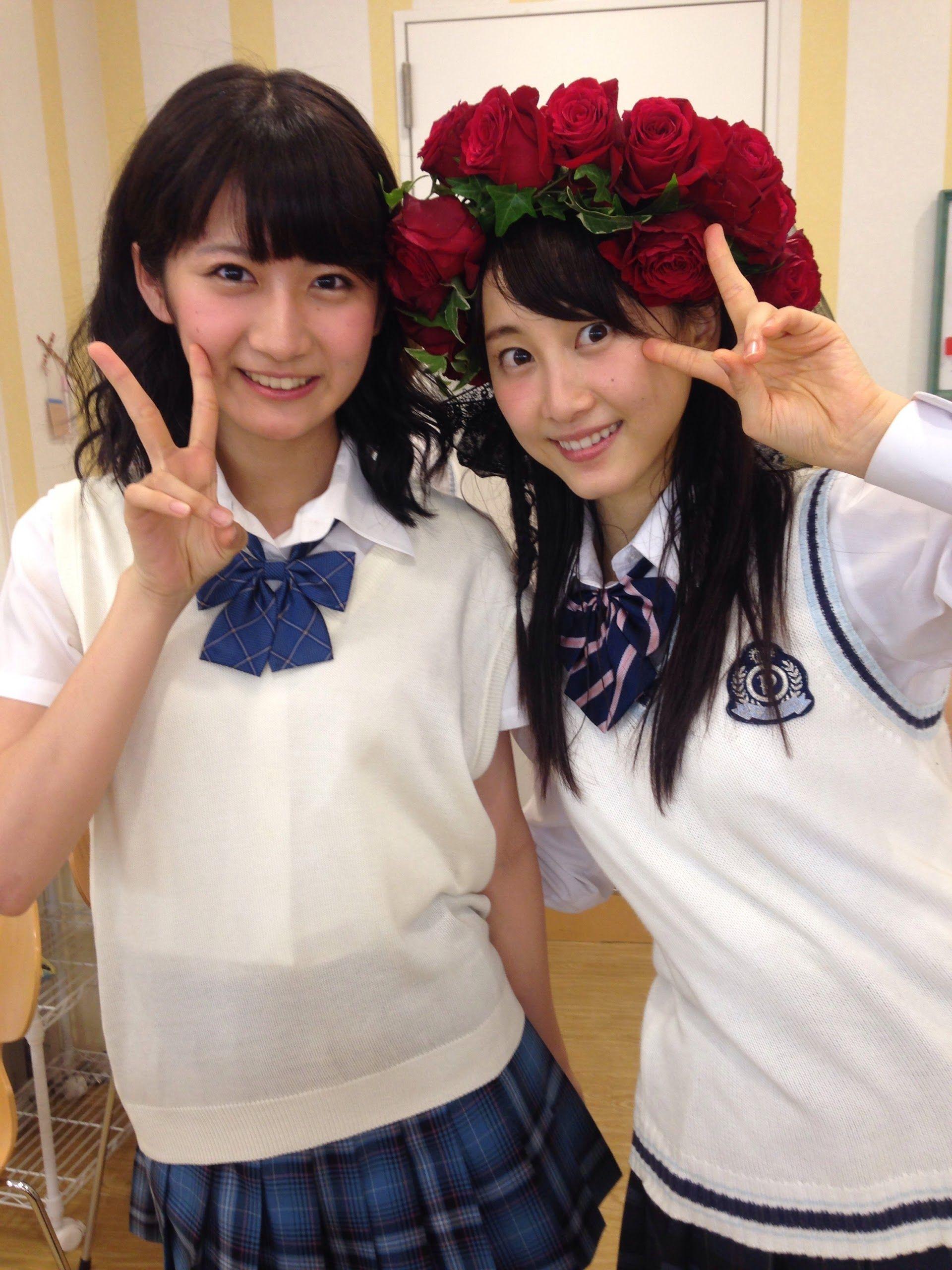 Saki Godo x Rena Matsui  https://plus.google.com/u/0/112406210639671404336/posts/eNmbRQZptZe