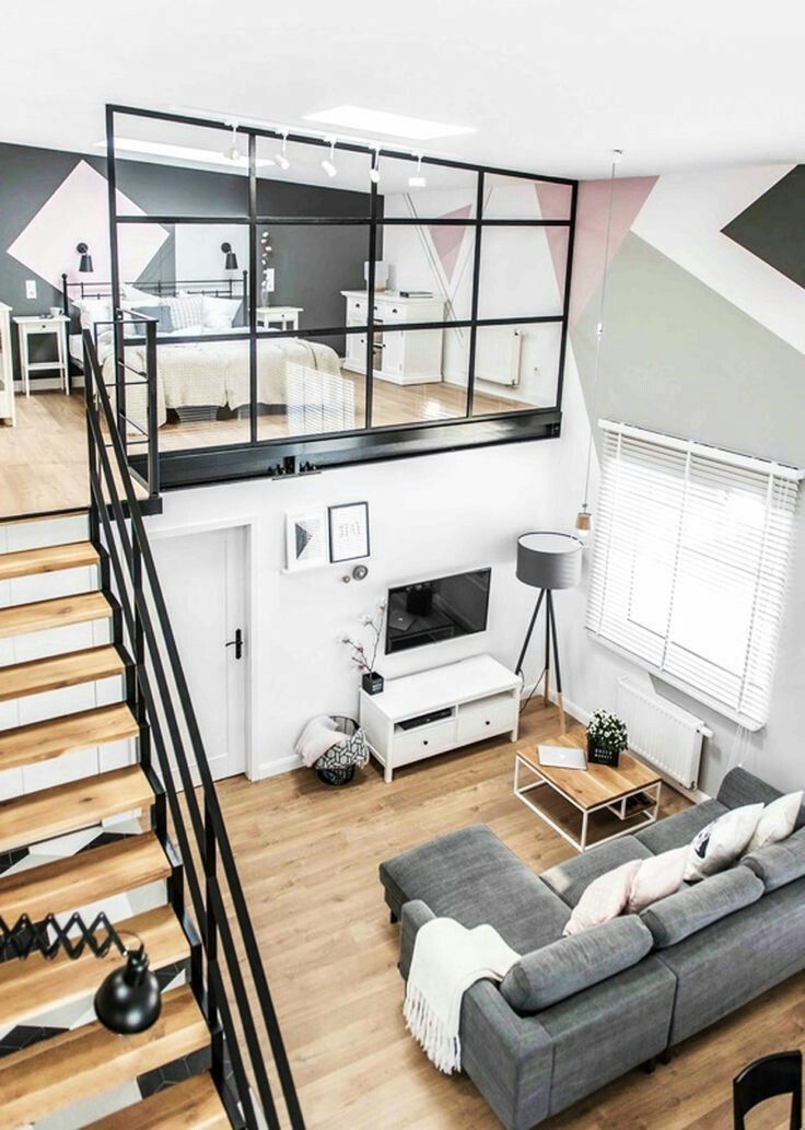 Its My Living Modern Duplex Apartment The Perfect Scandinavian Style Home Small House Interior Design Small House Interior Minimal Interior Design