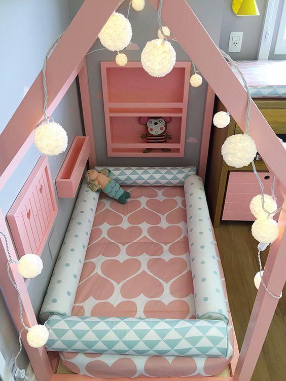 ff51b6035 Faça você mesmo  uma cama em forma de casinha