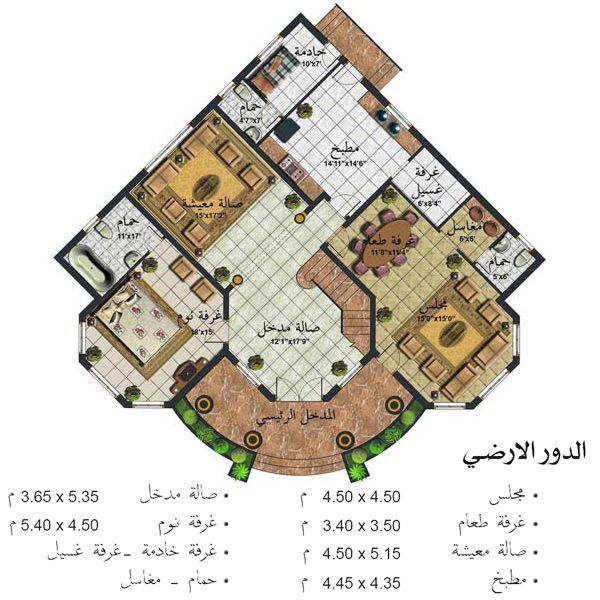 تصميم بيت الاحلام مسقط تصميم فلل فلل بطراز عربي واجهةمنازل خليجي ارقى التصاميم مميز منتدى الن House Design Pictures Square House Plans Minimal House Design