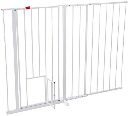 Dog Doors Carlson Maxi Extra Tall Pet Gate Expands 5159 Inches