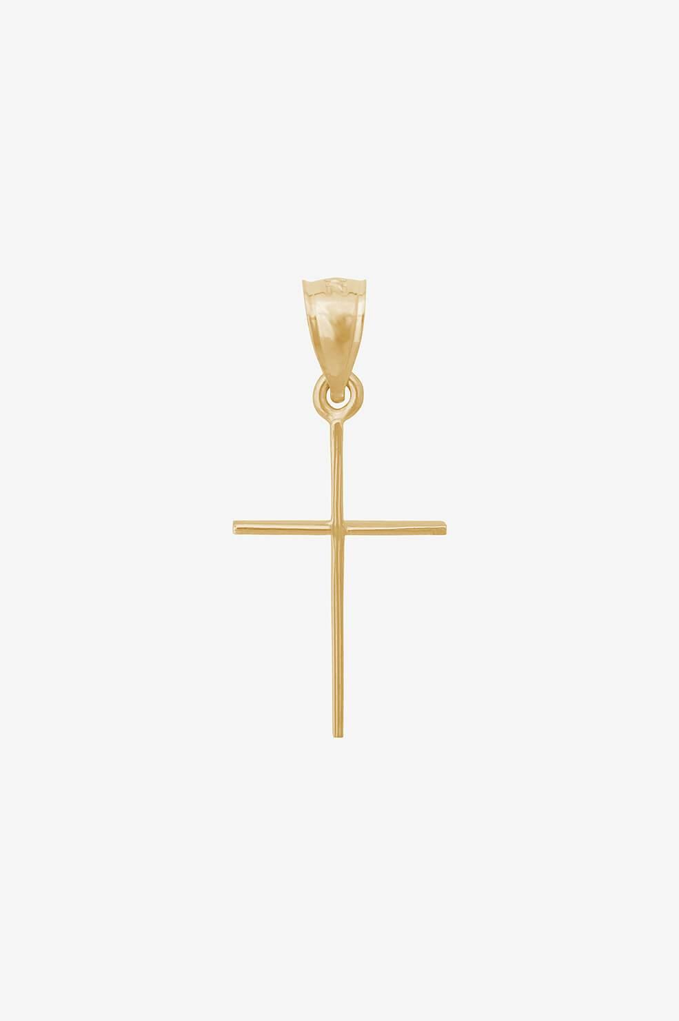 Cross Charm Cross Charms Gold Cross Charm Charm Pendant