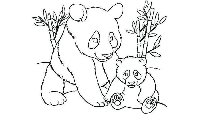 Kawaii Panda Coloring Pages In 2020 Bear Coloring Pages Panda Coloring Pages Free Coloring Pages