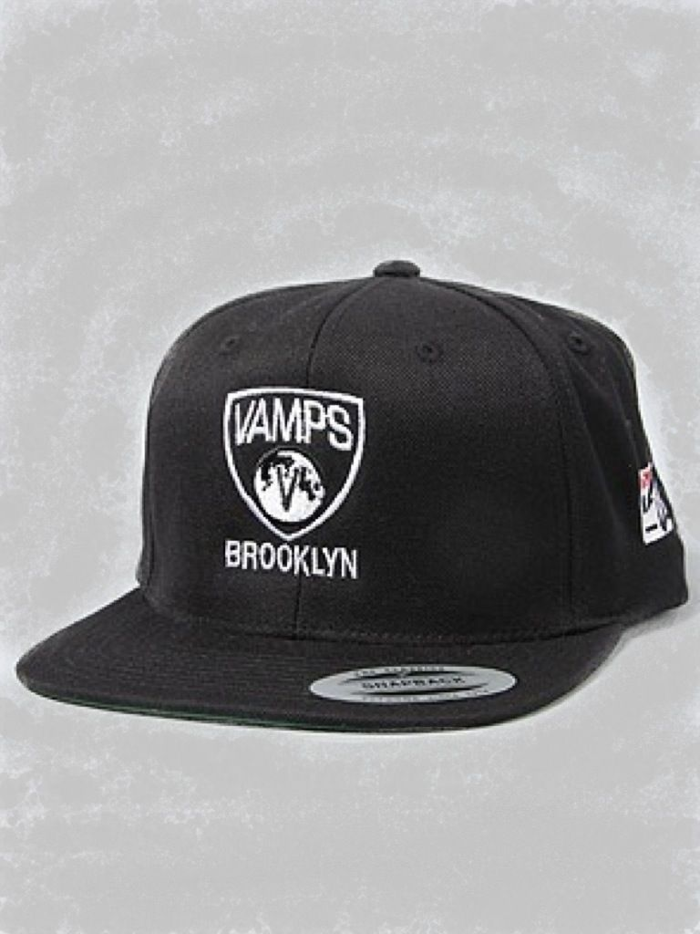 1798f974b941d ... australia vamp life the vamps brooklyn snapback hat in black acrylic  and wool six panel snapback