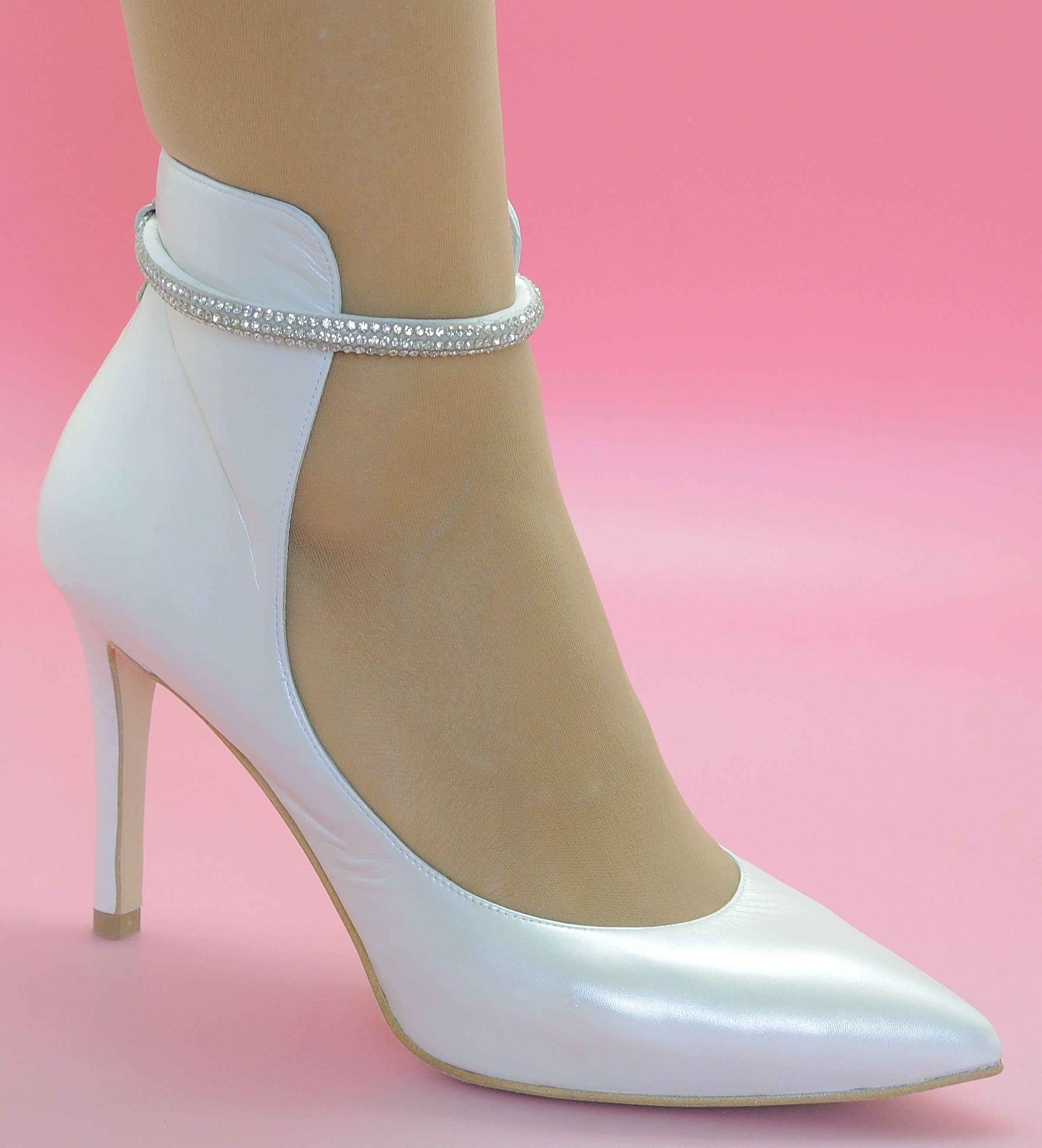 Zapatos de salón de novia | el vestido | Pinterest | Zapatos de ...