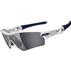 f1ee27794 Oakley Radar Path Sunglasses - Oakley Men's Sport Original Eyewear -  Polished White/Black Iridium / One Size Fits All