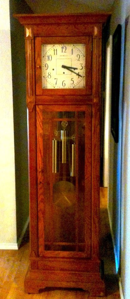 Grandfather Clock Howard Miller Greene Model Ebay Clock